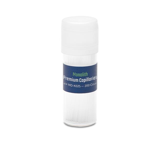 Monolith Premium Capillaries (200 count)
